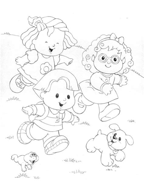 little people coloring game coloring pages
