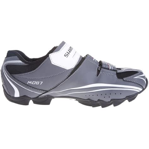shimano m087 mountain bike shoes shimano s m087 grey cycling shoe bm08741 6 5 uk