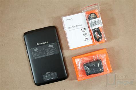 Dan Review Lenovo A1000 ร ว ว lenovo a1000 แท บเล ต dual พร อมพล งเส ยง dolby โทรได ในราคาเพ ยง 3 990 บาท specphone
