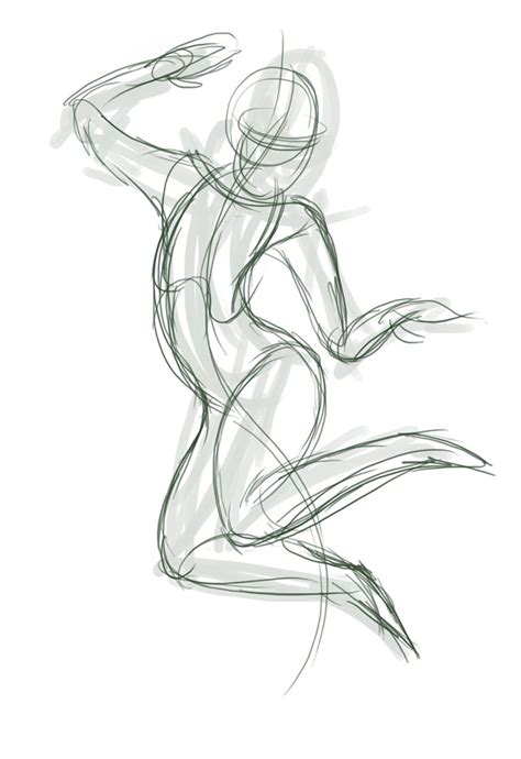 Sketches Poses by Tip Create Dynamic Poses Using Gesture Drawing
