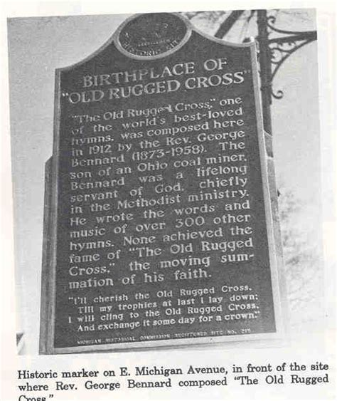 The Rugged Cross History the rugged cross written in albion historical albion