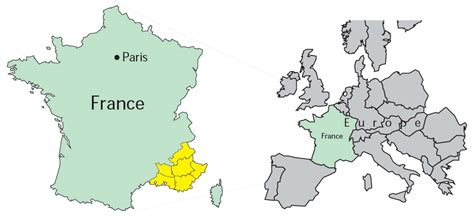 province france maps of france by provence beyond