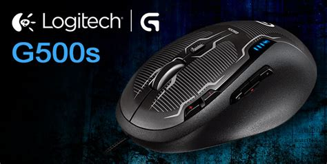 Mouse Logitech G500s logitech g500s gaming mouse review hardwareheaven comhardwareheaven