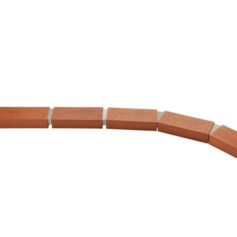 argee  ft decorative plastic brick edging rg