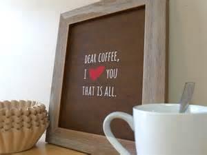 coffee sign kitchen wall coffee prints coffee