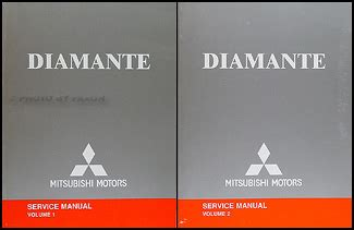 service and repair manuals 2004 mitsubishi diamante head up display 2004 mitsubishi diamante wiring diagram repair shop manual original