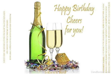 birthday cheers birthday wishes with alcohol pictures images photos