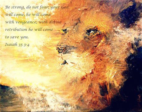 The Earth Tote Bag Kanvas Hitam of judah strength painting by amanda dinan