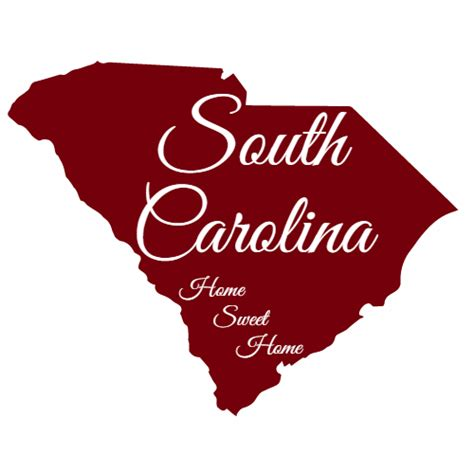 south carolina house south carolina home sweet home sticker