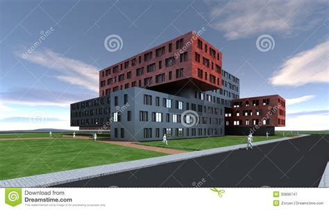 building designs modern building design royalty free stock photography