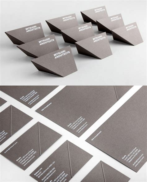 architecture business cards 20 creative business cards for architects archdaily