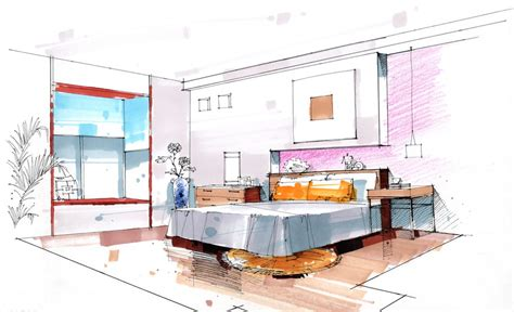 Home Design Drawing Room Bedroom Interior Design Sketch 3d House Free 3d House