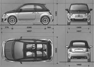 Fiat Cinquecento Dimensions The Blueprints Blueprints Gt Pkw Gt Fiat Gt Fiat 500c