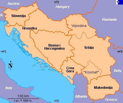 donde se localiza croacia matr 237 culas de yugoslavia