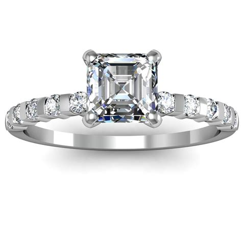 Asscher Cut Engagement Rings by 65 Carats Engagement Rings Review