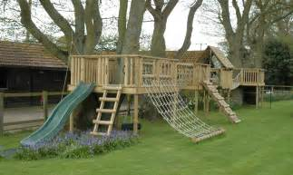 wooden climbing frames promoting outdoor play the active