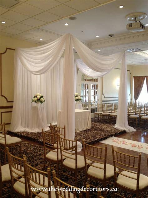 wedding ceremony draping ceremony draping canopy chuppah wedding decor designs