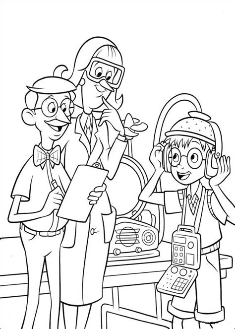 Meet The Robinsons Coloring Pages Picgifs Com Meet The Robinsons Coloring Pages