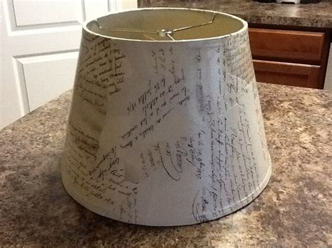 Decoupage Light Shade - decoupage l shade a r t y f a r t y