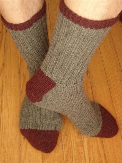 knitting pattern mens socks 8 cozy sock patterns for him knitting