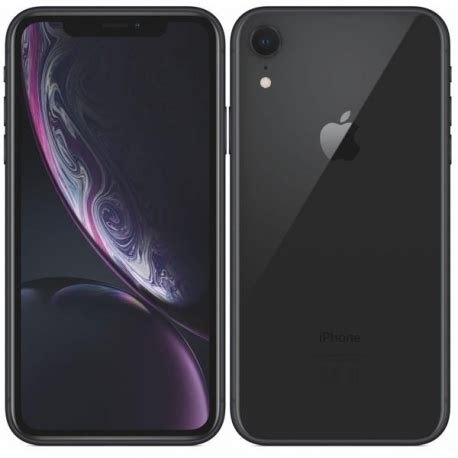 apple iphone xr 256gb negro