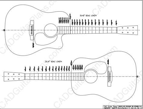 electric acoustic guitar plans pdf dreadnought d28 acoustic guitar plan cad guitar plans