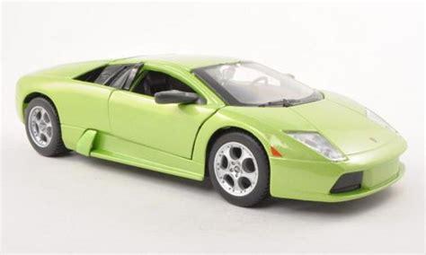 2001 Lamborghini Murcielago Lamborghini Murcielago Green 2001 Maisto Diecast Model Car