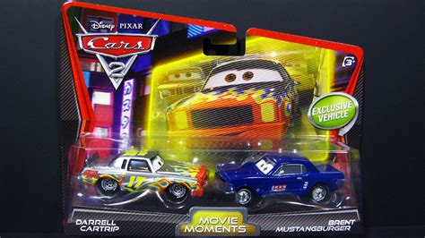 Mattel Disney Pixar Darrel Cartrip Brent Mustangburger Obral Murah brent mustangburger and darrel cartrip cars 2 disney pixar