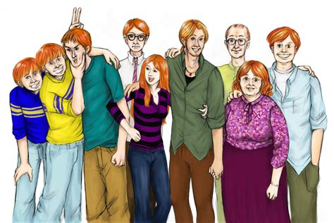 the weasley family by kendrakickz0220 on deviantart weasley family portrait by buzdeezul on deviantart