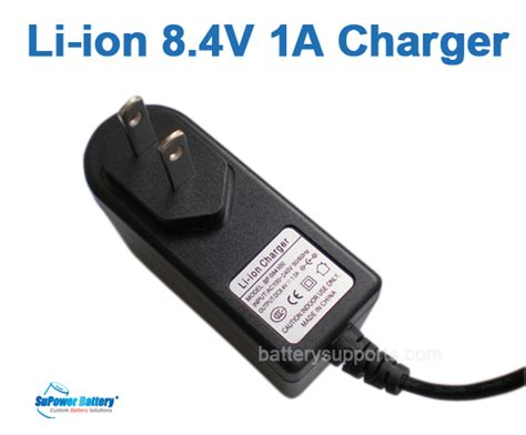 7 4v battery charger li ion li po 7 2v 7 4v 8 4v 1a wall socket battery charger