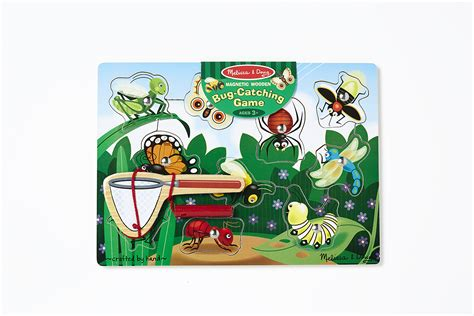 2 Set Woodem Puzzle Vegetanle And My Part bug catching magnetic puzzle 10 pieces by doug 3779 eugene hobby
