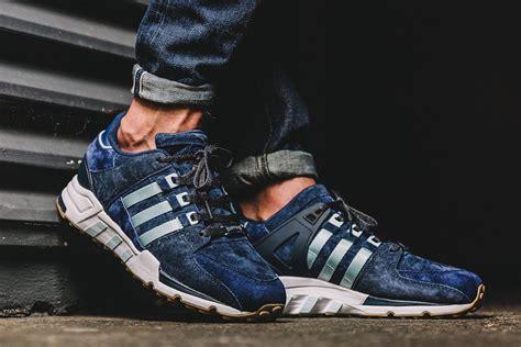 Sepatu Adidas Eqt Premium Black Navy adidas eqt running support 93 berlin marathon sneaker bar detroit