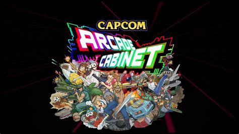 capcom arcade cabinet official trailer gamespot