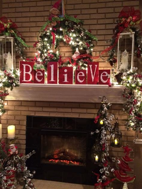 24 christmas fireplace decorations know that you should