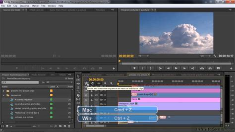 adobe premiere pro nesting adobe premiere pro cc tutorial working with nested