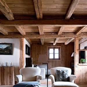 peindre un plafond avec des poutres kirafes