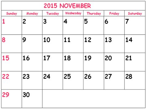 printable calendar november 2015 uk free printable calendar 2018 free printable calendar november