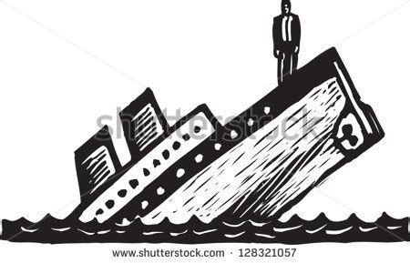 boat drawing video titanic sinking clipart clipground