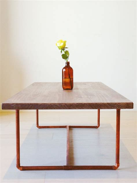 Copper Table Legs 1000 ideas about copper coffee table on