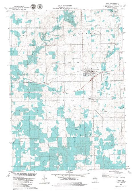 boyd topographic map wi usgs boyd topographic map wi usgs topo 44091h1