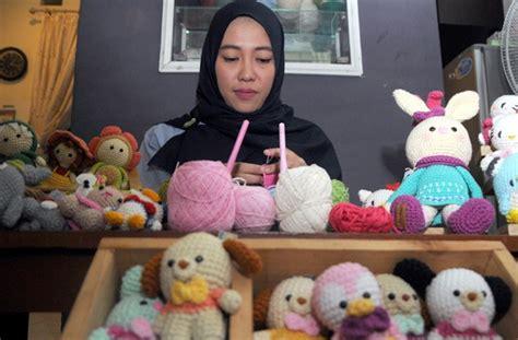 Topi Bayi Lucu Rajut Bon Bon tips boneka rajut pakai rumus jumlah rajutan agar
