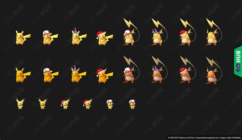 New Counters by Shiny Pichu Pikachu And Raichu Discovered In The App S