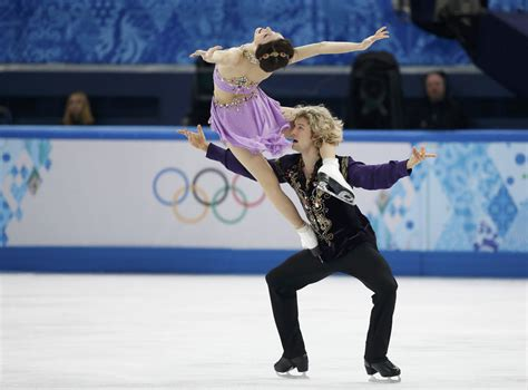 meryl davis charlie white americas ice dancing meryl davis and charlie white during ice dance free dance