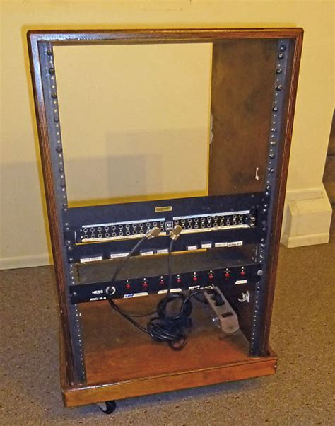 Wood Audio Rack by 36 Quot High End Custom Wood Rack For Pro Audio