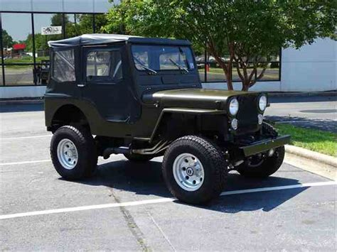 1947 jeep willys for sale classic willys for sale on classiccars 127 available