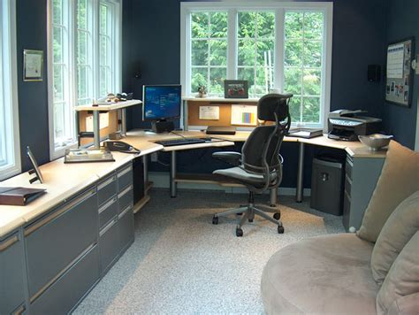 how to setup a home office in a small space setting up a home office home round