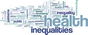 inequalities and health of public health and