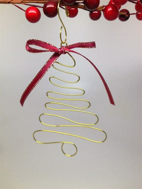 softflexgirl diy christmas craft wire christmas tree