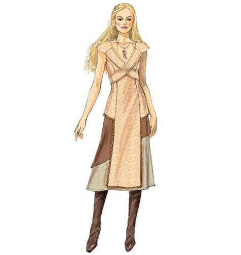 pattern for daenerys dress full time vixen simplicity pattern