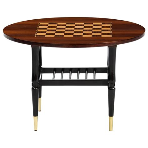 chess table italian chess side table at 1stdibs